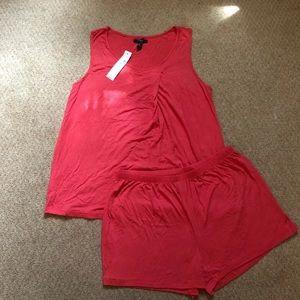 Carole Hochman Women's Coral Pajama Set